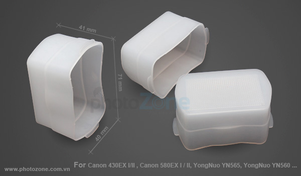 Tản sáng Flash Canon 430EX I/II , Canon 580EX I / II, YN565, YN560...