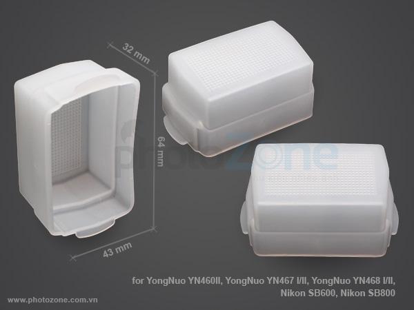 Tản sáng Flash YongNuo YN460II, YongNuo YN467 I/II, YongNuo YN468 I/II, Nikon SB600, Nikon SB800