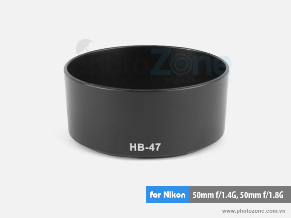 Hood HB-47 for Nikon 50mm f/1.4G, Nikon 50mm f/1.8G