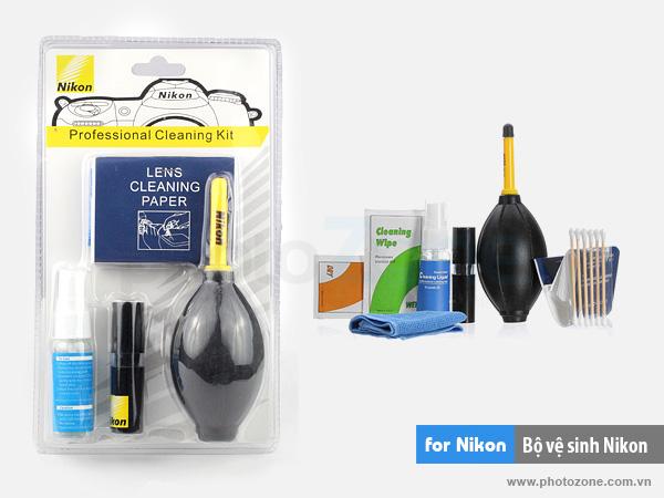 Bộ vệ sinh máy ảnh Nikon (Cleaning Kit)
