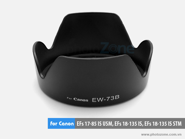 Hood EW-73B for Canon 18-135mm, 18-135mm STM, 17-85mm