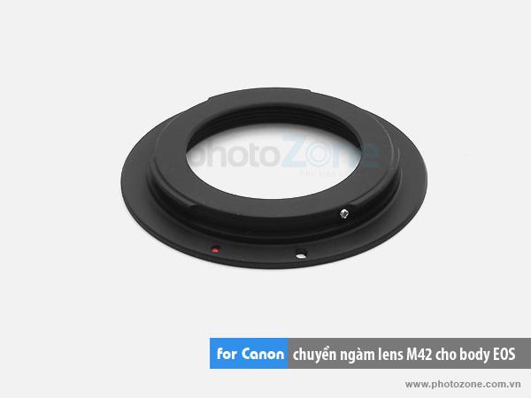 Mount chuyển ngàm M42-EOS for body Canon