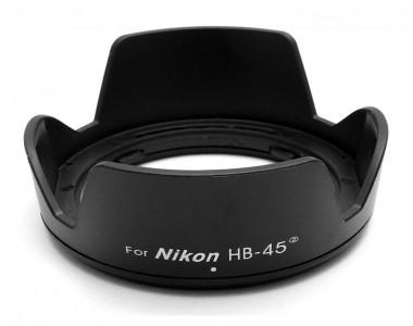 Hood HB-45 II for Nikon AF-S DX NIKKOR 18-55mm f/3.5-5.6G VR (Hood hoa sen)