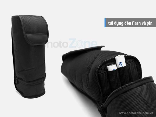 Túi đựng đèn flash và pin