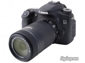 Đánh Giá Canon EOS 70D một bước ngoặt đổi mới
