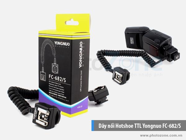 Dây nối Hotshoe TTL Yongnuo FC-682/S for Nikon