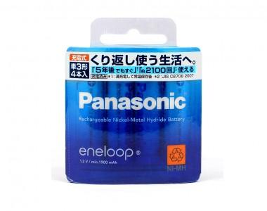 Pin sạc AA Panasonic Eneloop thế hệ 4 BK-3MCC (Hàng nội địa)