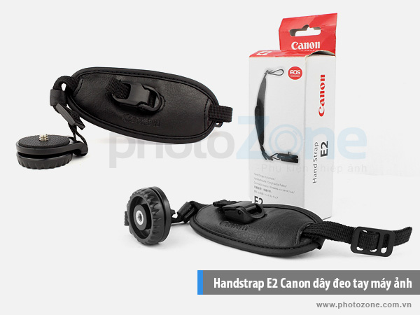 Handstrap E2 Canon dây đeo tay máy ảnh