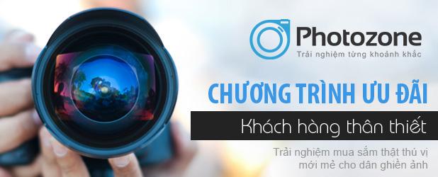 Chương trình ƯU ĐÃI Khách hàng thân thiết của photoZone