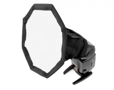 Softbox bát giác mini cho Flash rời