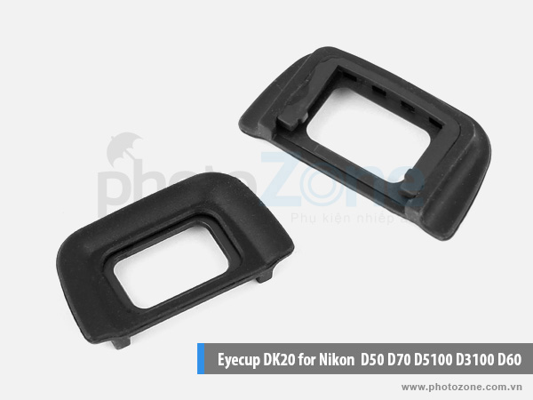 Eyecup DK-20 for Nikon D50, D70, D5100, D3100, D60