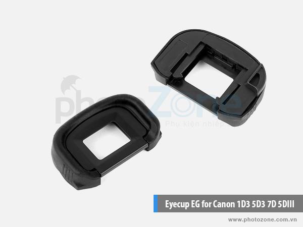 Eyecup EG for Canon 5D III, 5D IV, 5DSR, 5DS, 7D, 7D II, 1D X, 1D III, 1Ds III, 1D IV