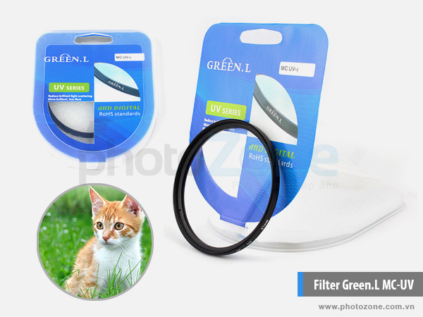Kính lọc Green.L MC-UV (Filter MC-UV)