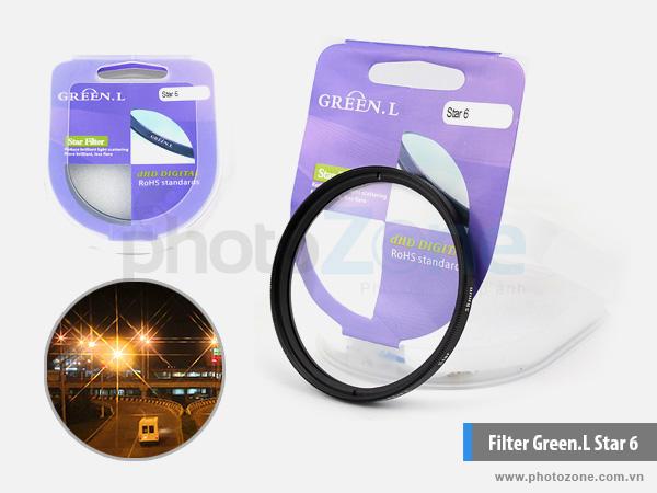 Kính lọc Green.L Star 6 (Filter Star 6)