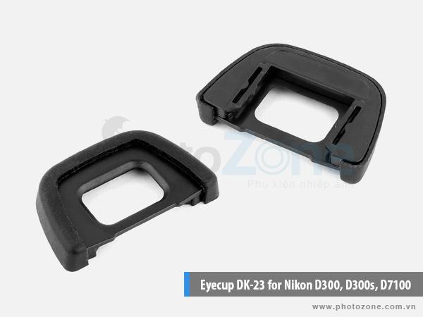 Eyecup DK-23 for Nikon D300, D300s, D7100
