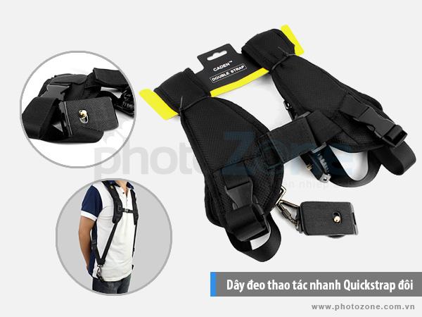 Dây đeo thao tác nhanh Quickstrap đôi