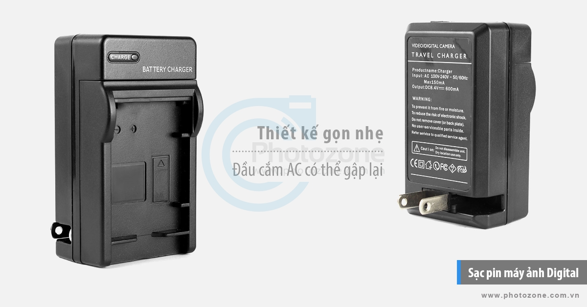 Sạc pin Nikon EN-EL23 Digital for Nikon Coolpix P600, P610, P900, S810c
