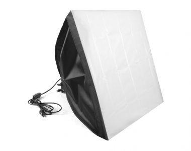 Softbox 50x50cm đuôi 1 đèn studio
