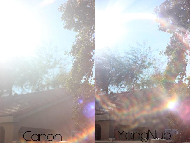 So sanh Youngno va Canon 50mm Kenhcongnghevn 8