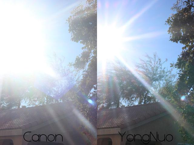 So sanh Youngno va Canon 50mm Kenhcongnghevn 9