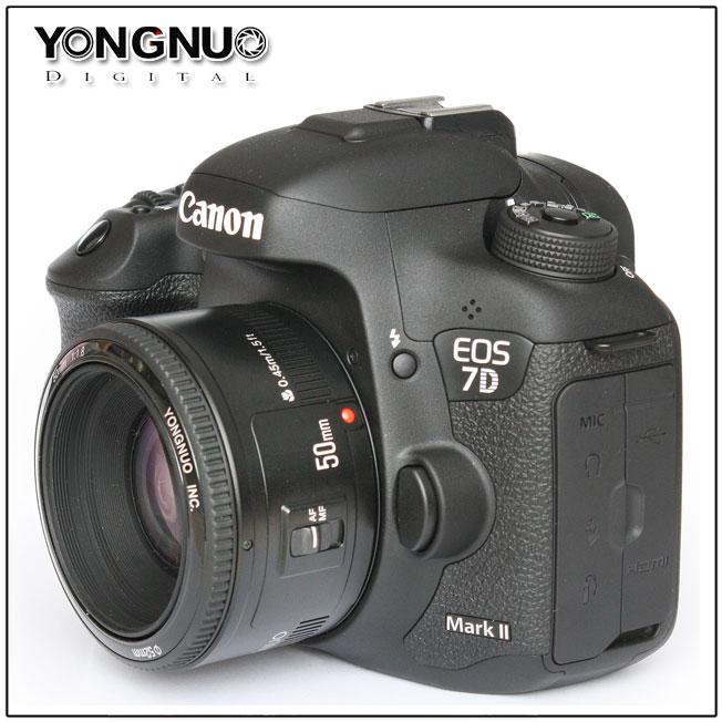 Yongnuo ra mắt YN 50mm f1.8