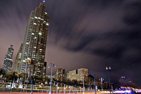 Chụp ảnh chuyển động trong thành phố