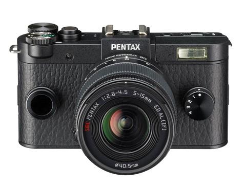 Ricoh Pentax giới thiệu máy ảnh không gương lật và ống kính mới