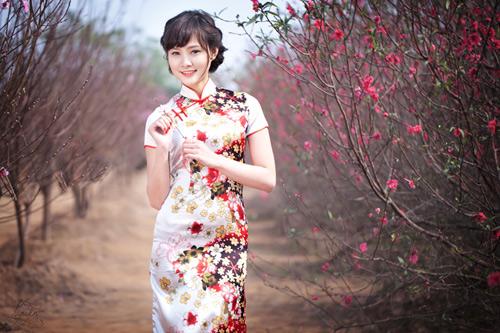 Khu vườn hoa Nhật Tân