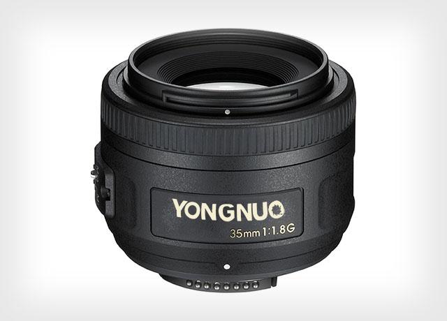 Yongnuo tiết lộ sẽ hoàn thành một phiên bản clone của ống kính Nikon 35mm f/1.8 vào cuối năm 2015