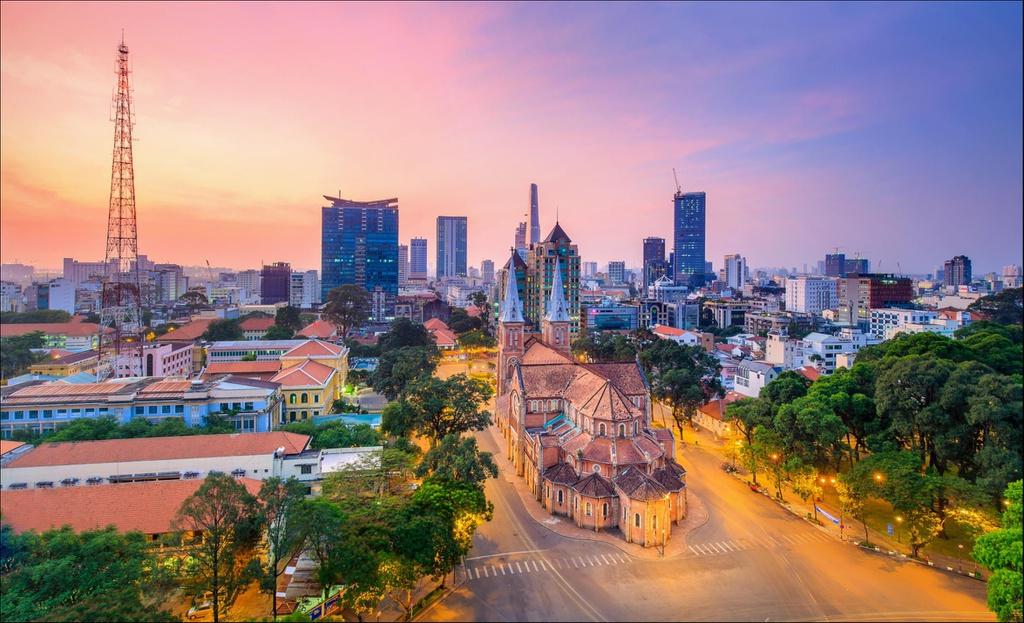 """Nhớ ngay 13 địa điểm du lịch Sài Gòn chụp ảnh đẹp """"không tì vết"""""""