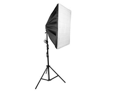Bộ Softbox đuôi 4 đèn 50x70cm LED 240W