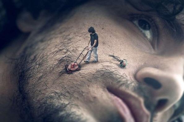Bức ảnh photoshop khiến người xem giật mình