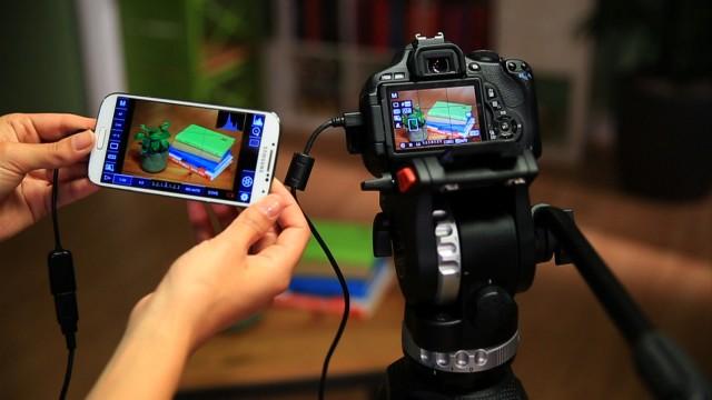 Điều khiển DSLR với thiết bị chạy Android