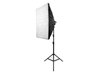 Bộ Softbox đuôi 5 đèn 60x90cm LED 200W