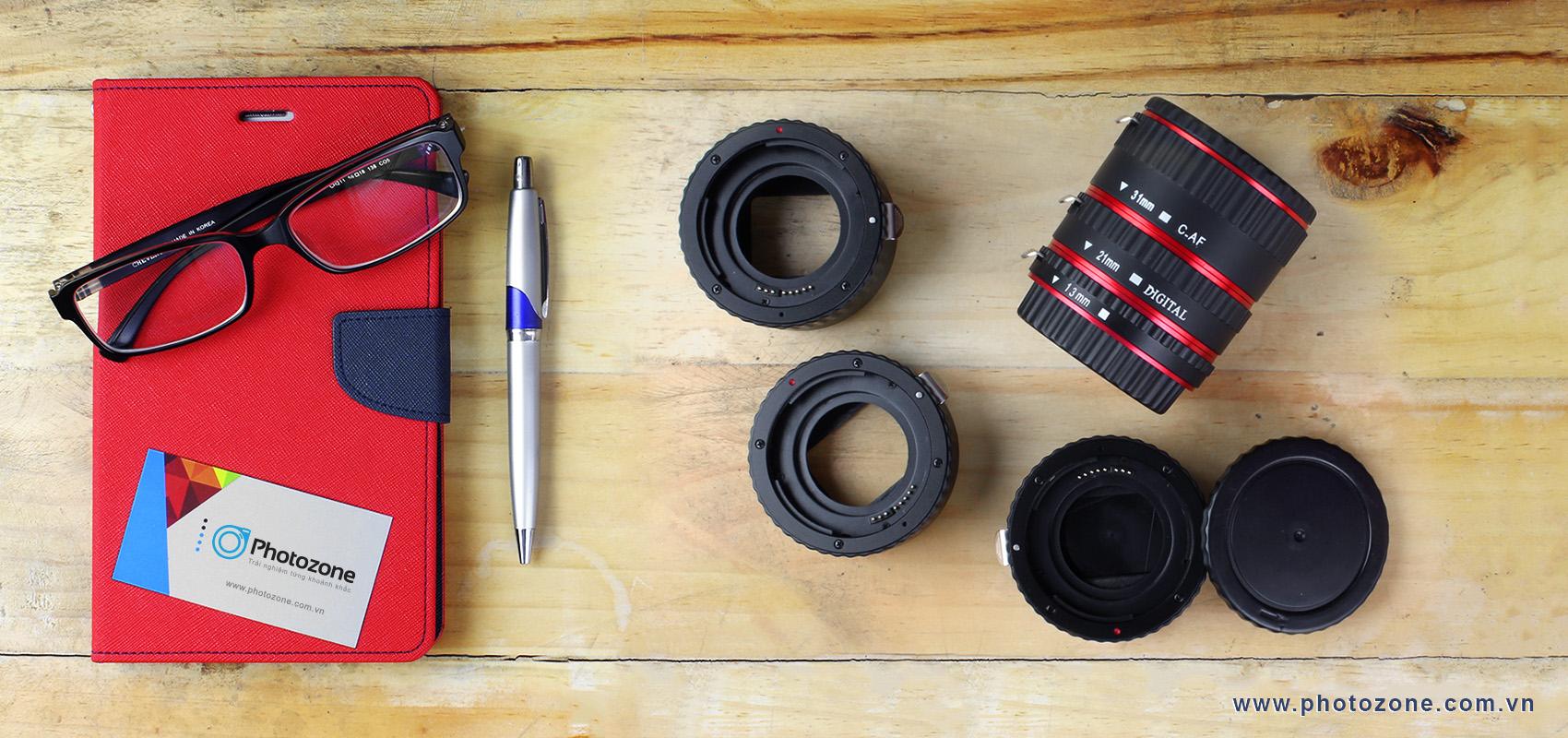 """photoZone's Story - Phụ kiện máy ảnh & thiết bị phòng chụp """"khủng"""" hội tụ tại photoZone"""