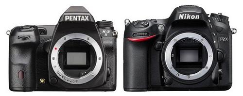 Đọ thông số kỹ thuật máy ảnh Pentax K-3 II và Nikon D7200