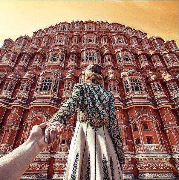 Ấn Độ huyền bí trong bộ ảnh của cặp đôi người Nga