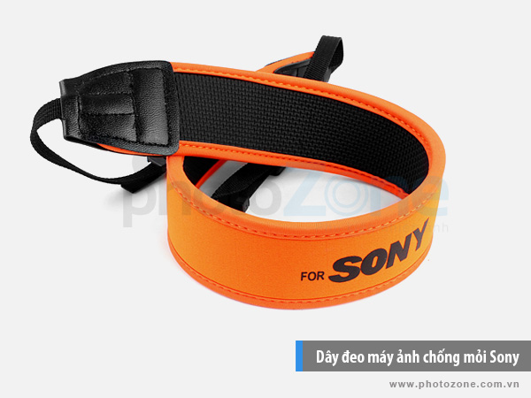 Dây đeo máy ảnh chống mỏi Sony