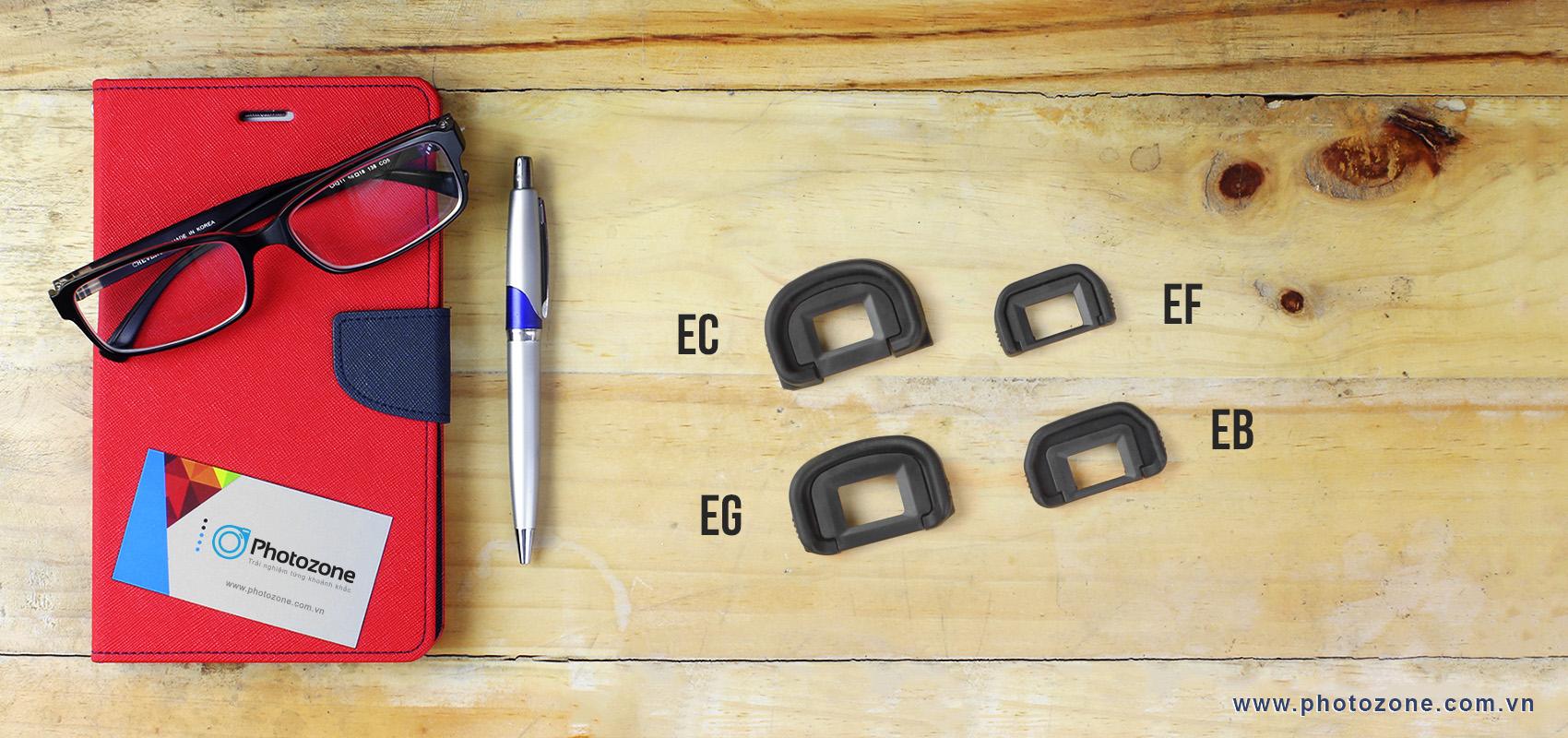 Eyecup EF màu trắng for Canon 100D, 350D, 450D, 500D, 550D, 600D, 650D, 700D, 750D, 760D – xxxxD…
