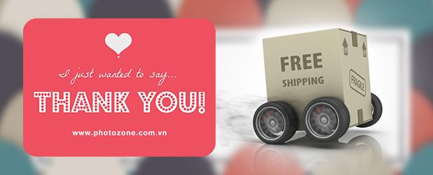 Free shipping tri ân khách hàng trong 2 ngày 17-18/06/2015