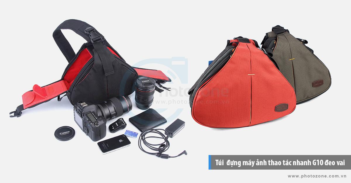 Túi  đựng máy ảnh thao tác nhanh G10 đeo vai