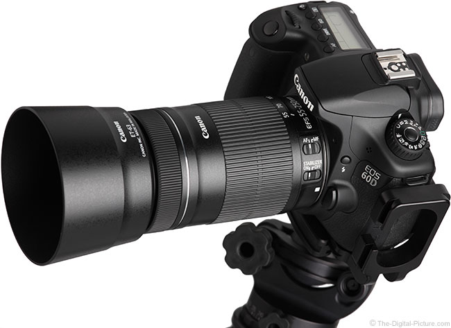 Canon-EF-S-55-250mm-IS-STM-Lens-on-Camera-with-Hood