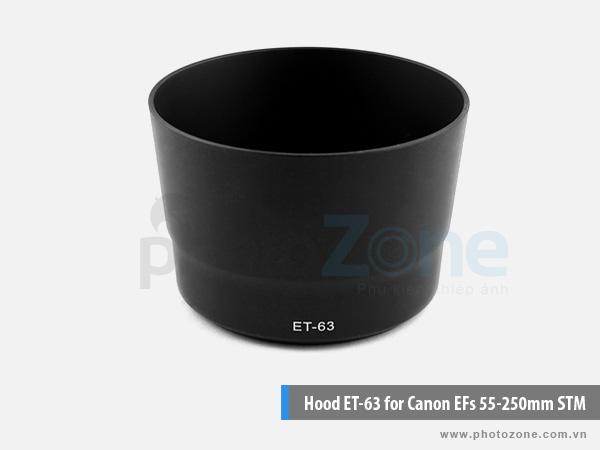 Hood ET-63 for Canon 55-250 STM
