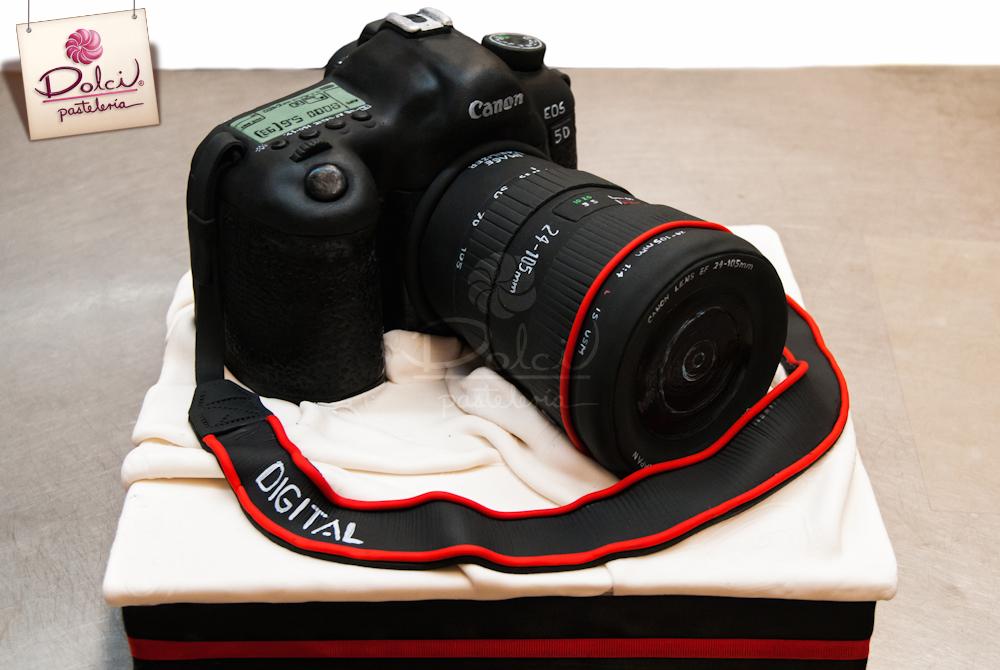 Ngộ nghĩnh máy ảnh DSLR hình bánh kem