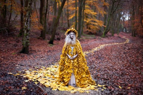 Nữ hoàng mùa thu.