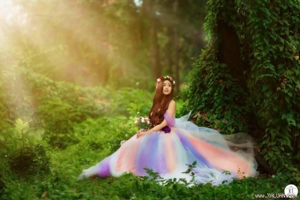 """Bộ ảnh tuyệt đẹp """"Nàng công chúa trong rừng"""" của 9x Lạng Sơn"""