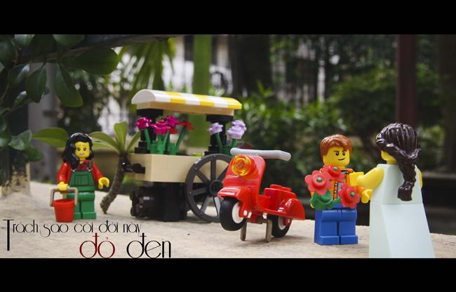 Độc đáo với bộ ảnh lego đầy cảm xúc