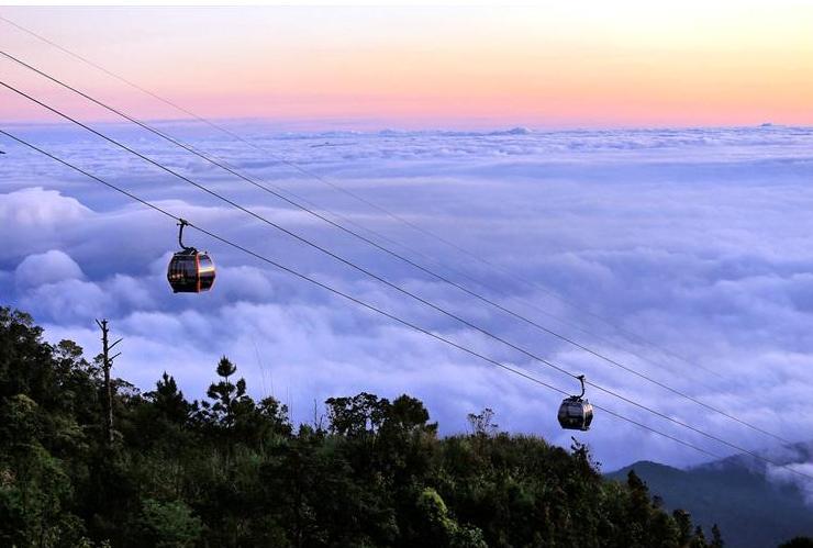 Biển mây Bà Nà - Ảnh: Lê Huy Tuấn