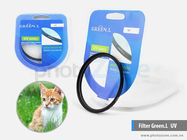 Kính lọc Green.L UV (Filter UV)