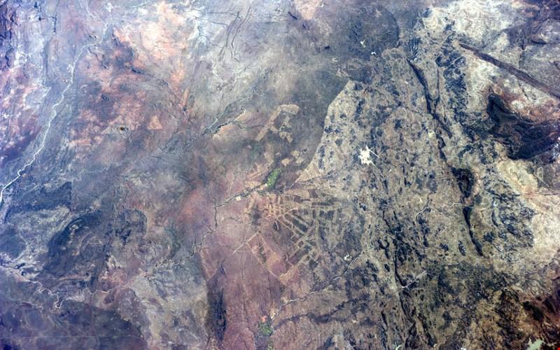 """Dấu vết """"chết chóc"""" của nạn phá rừng ở Nam Phi."""